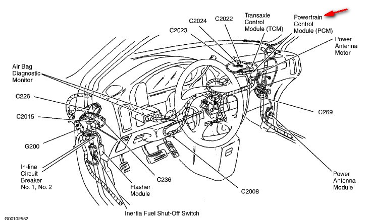 mercury mystique fuse box auto wiring diagram  mercury