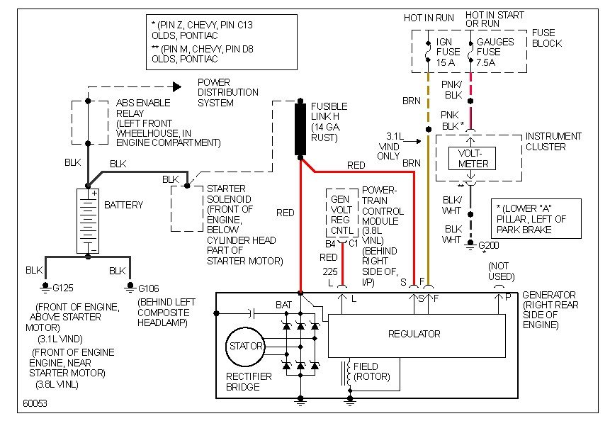 Pontiac Trans Sport Wiring Diagram Wiring Diagram and