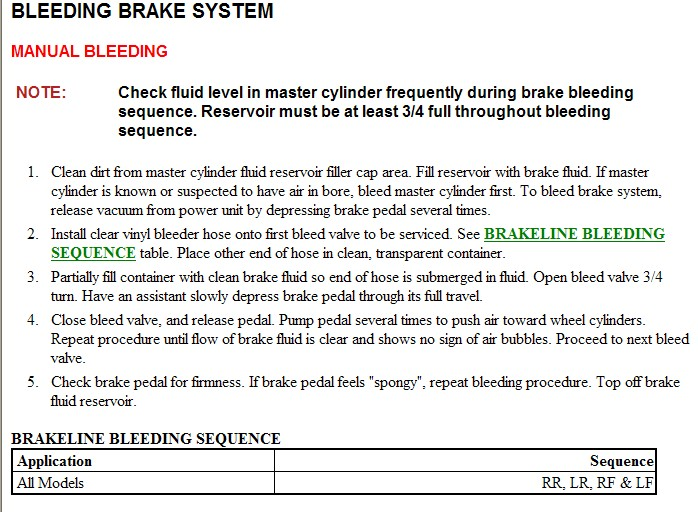 How do I replace the Brake Master Cylinder on my 2001 Ford Focus
