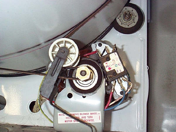 How do I install a kenmore dryer belt idler Kenmore Dryer Wiring Schematic on