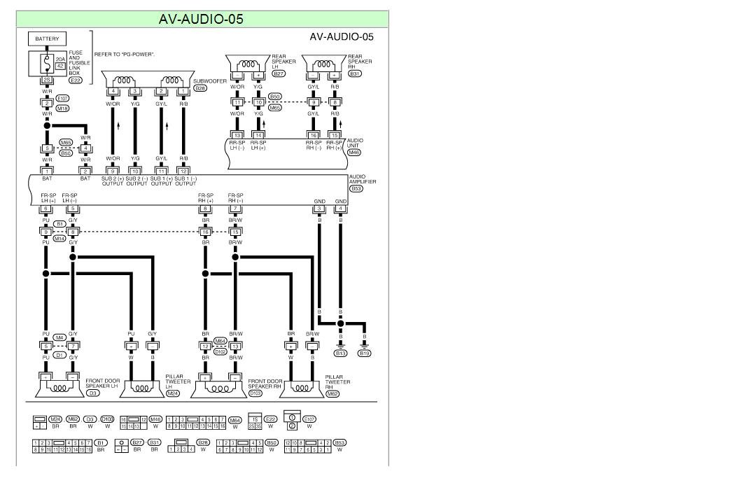 wiring diagram for a 2004 nissan sentra radio  u2013 powerking co