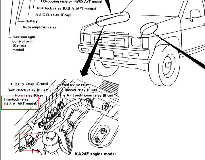 i u0026 39 ve replaced a starter on a 1990 nissan pickup and i have