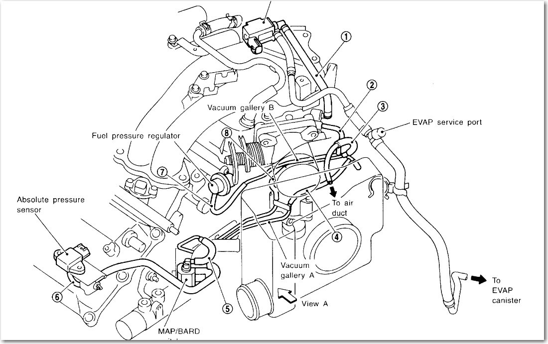 I Need A Vacuum Diagram For A 1999 Nissan Maxima 3 0