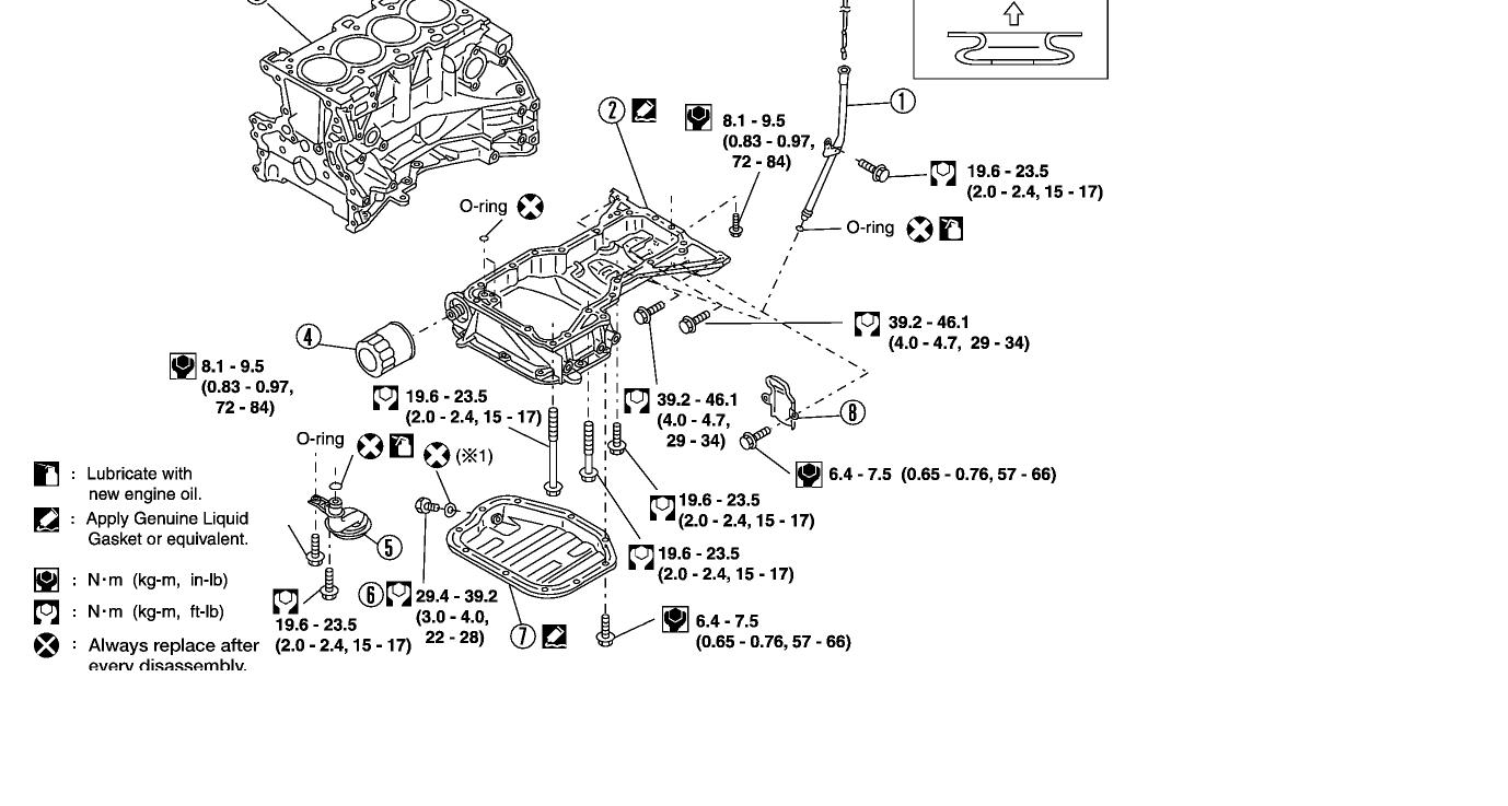 Torque specs on dual over head cams for nissan sentra ser ...