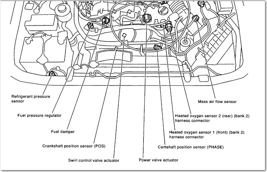 infiniti qx4 engine code p1040 infiniti engine problems