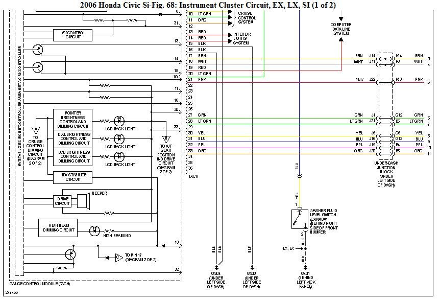 I Need Electrical Diagram For 2006 Civic Si  Fg2   My