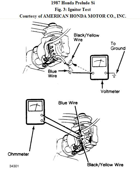 Ignition wiring diagram honda prelude and