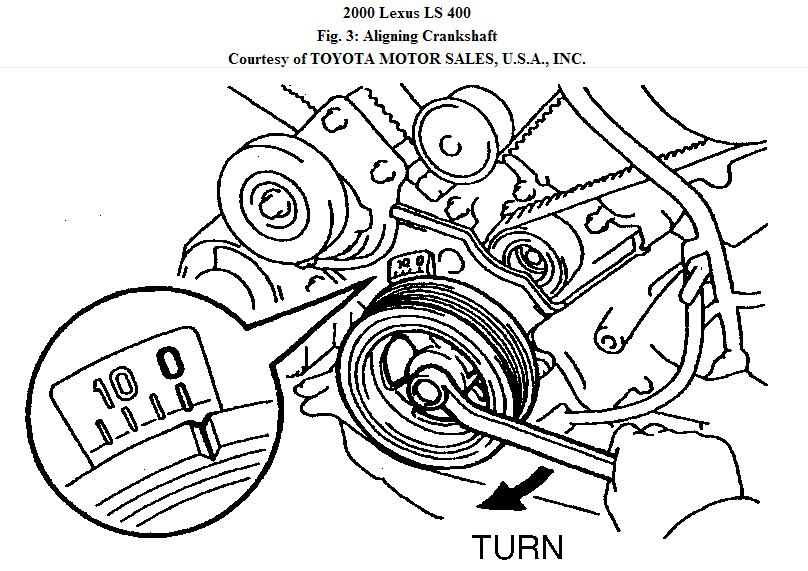 service manual  how to set timing for a 2009 lexus gx