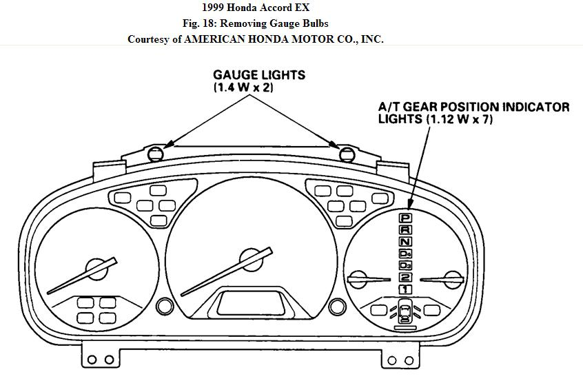 Image Of Honda Accord 2016 Warning Lights Honda Accord Dashboard