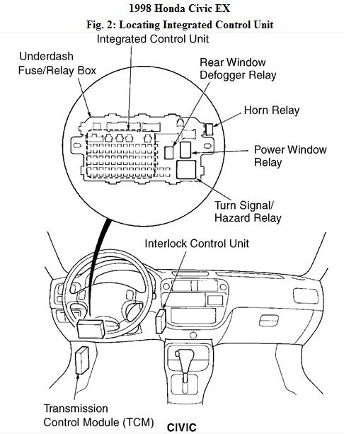 02 civic fuse box 02 civic main relay wiring diagram