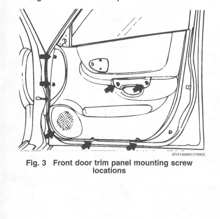 I Am Trying To Repair A Window For My Hyundai Accent I