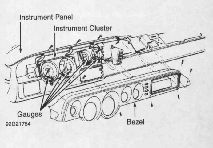 i need a diagram of a 1995 dodge ram 2500 dash to see the