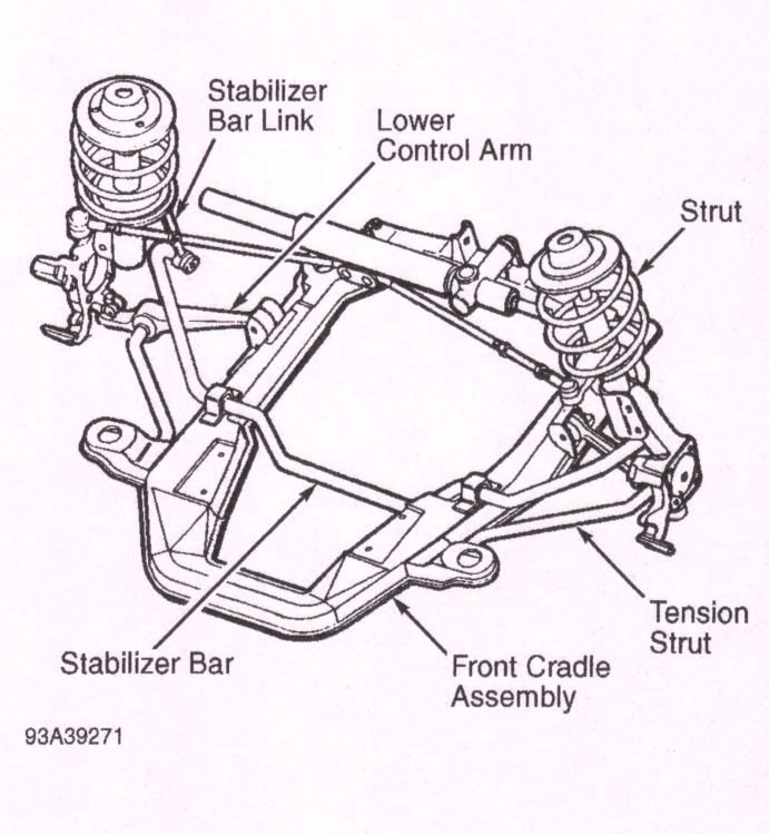 I need a suspendion diagram for a 1996 dodge intrepid for ...
