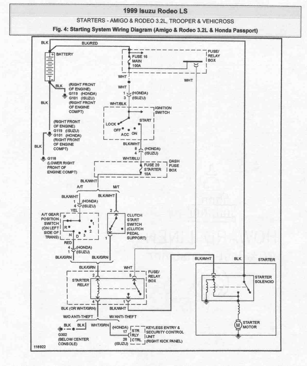 2l Isuzu Engine Diagram 3 Wiring Library 1999 I Have A Rodeo 32 L My Problem Is That When Go To Graphic