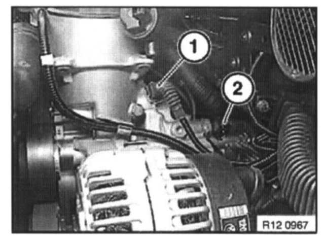 how to change oil pressure switch in 2001 bmw