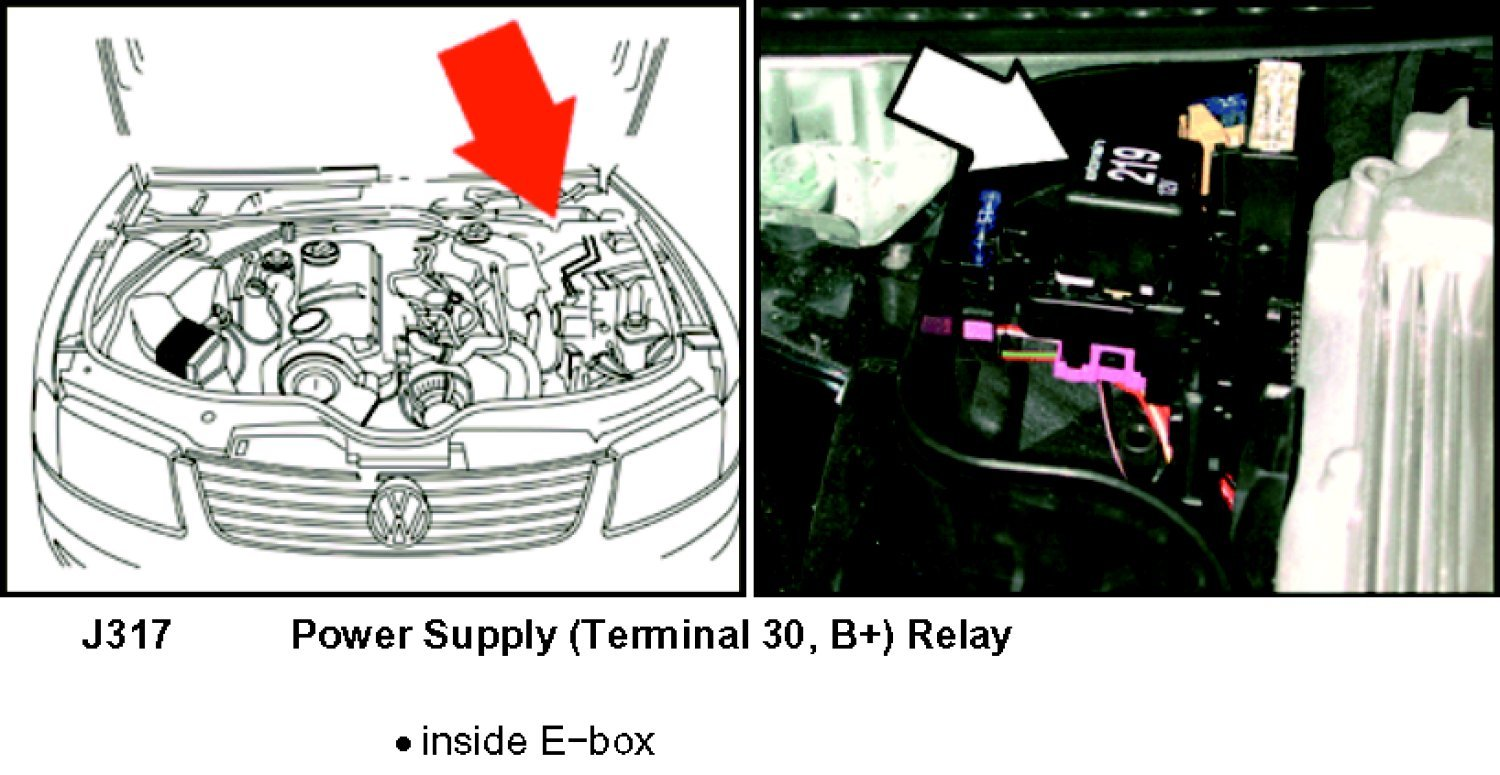 2005 Vw Passat Ac Relay Location - Your diagrams today