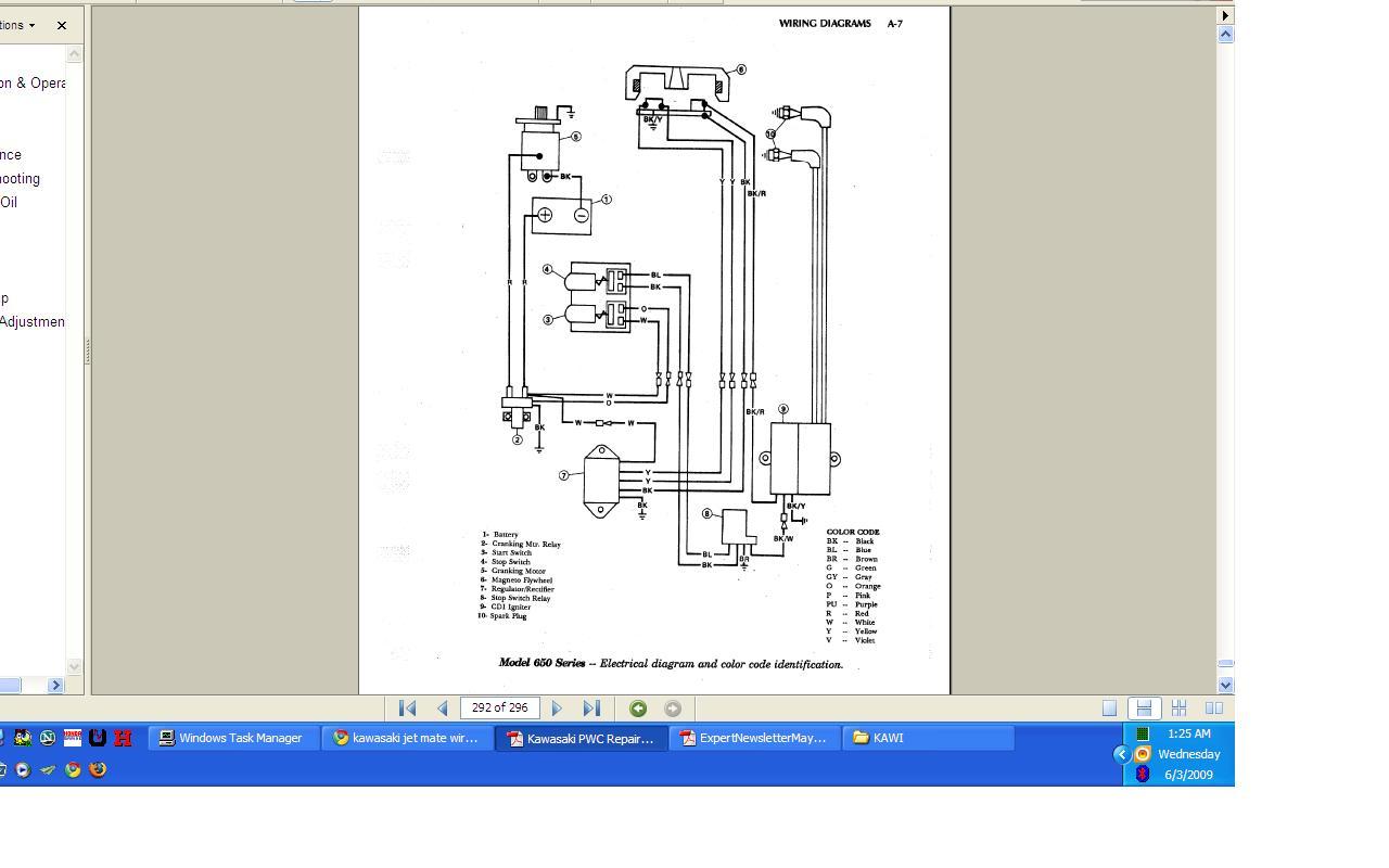 Kawasaki Jet Mate Wiring Problems