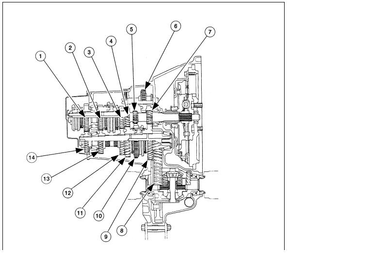 picture  exploded diagram   internal parts   mazda gm transmission