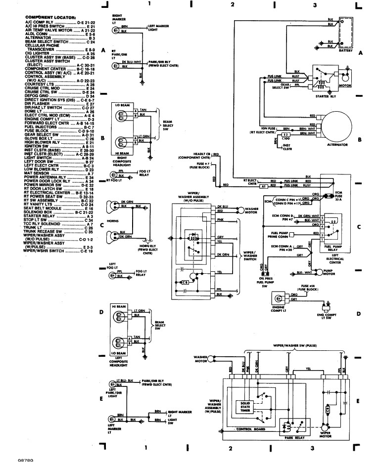 I Need A Diagram Out Of The Engine  Wiring Connecting To It