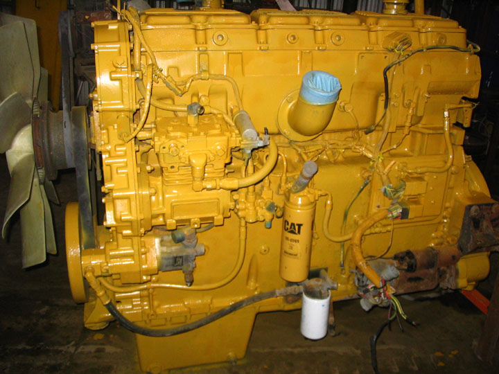 Cat E Engine