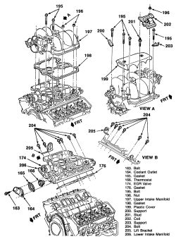 s10 4 3 engine diagram example electrical wiring diagram u2022 rh cranejapan co 4.3 Vortec Engine Parts Diagram Diagram of a 2000 4.3 Vortec Engine