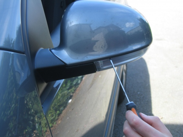 How Do You Change The Directional Signal Light Bulb On The