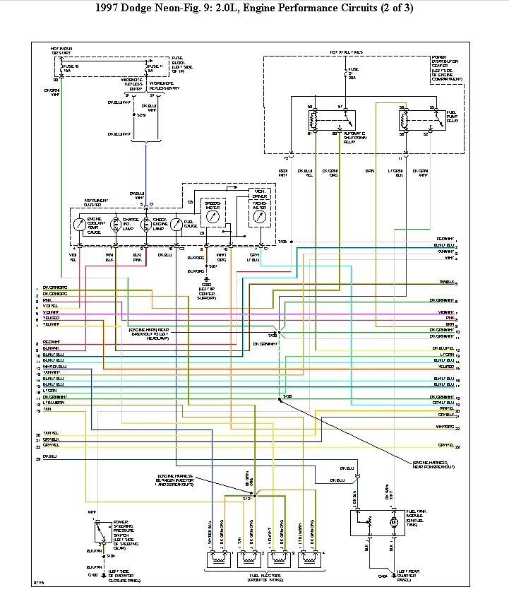 1998 dodge neon fuel pump wiring diagram  u2022 wiring diagram