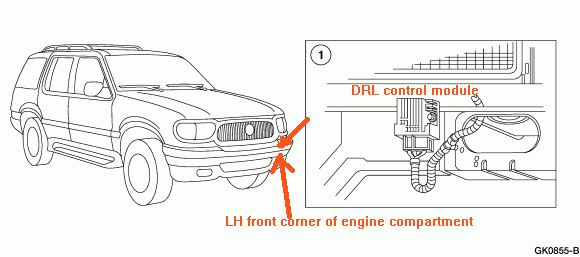 I Have A 1998 Ford Explorer When I Shut Off Engine Turn
