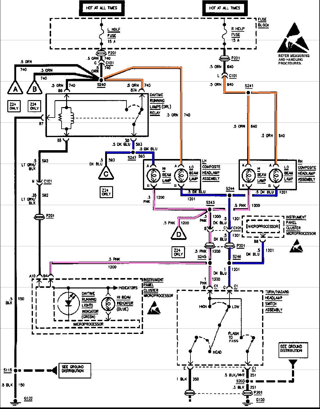 04 Cavalier Headlight Wiring Diagram 36 Wiring Diagram