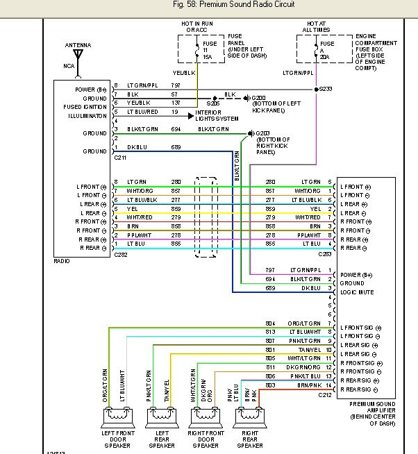 2007 12 26_151042_prem 2001 ford f150 stereo wiring diagram efcaviation com ford premium sound wiring diagram at mifinder.co