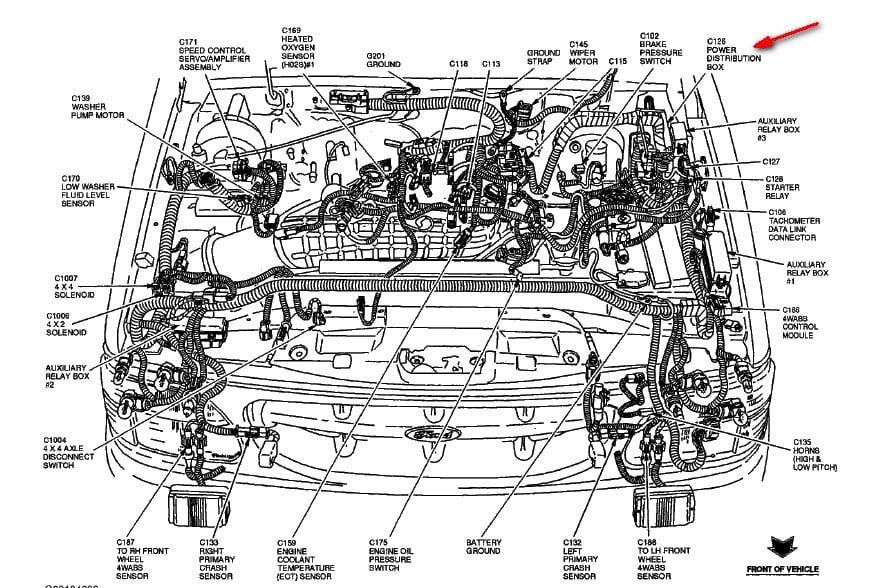 Alternator Wiring Diagram Also 2003 Ford Expedition Gem Module Diagram