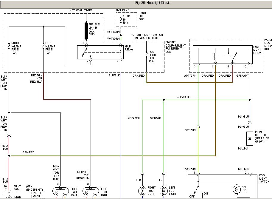 2004 hyundai accent fuse box diagram i have a 1996 hyundai accent and i pulled the 30 amp ...