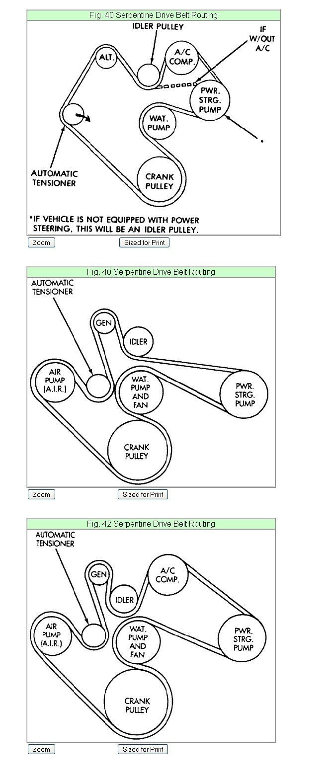 Instructions Please On Replacing The Serpentine Belt A 94 Dodge Gm 3500 Engine Diagram Graphic