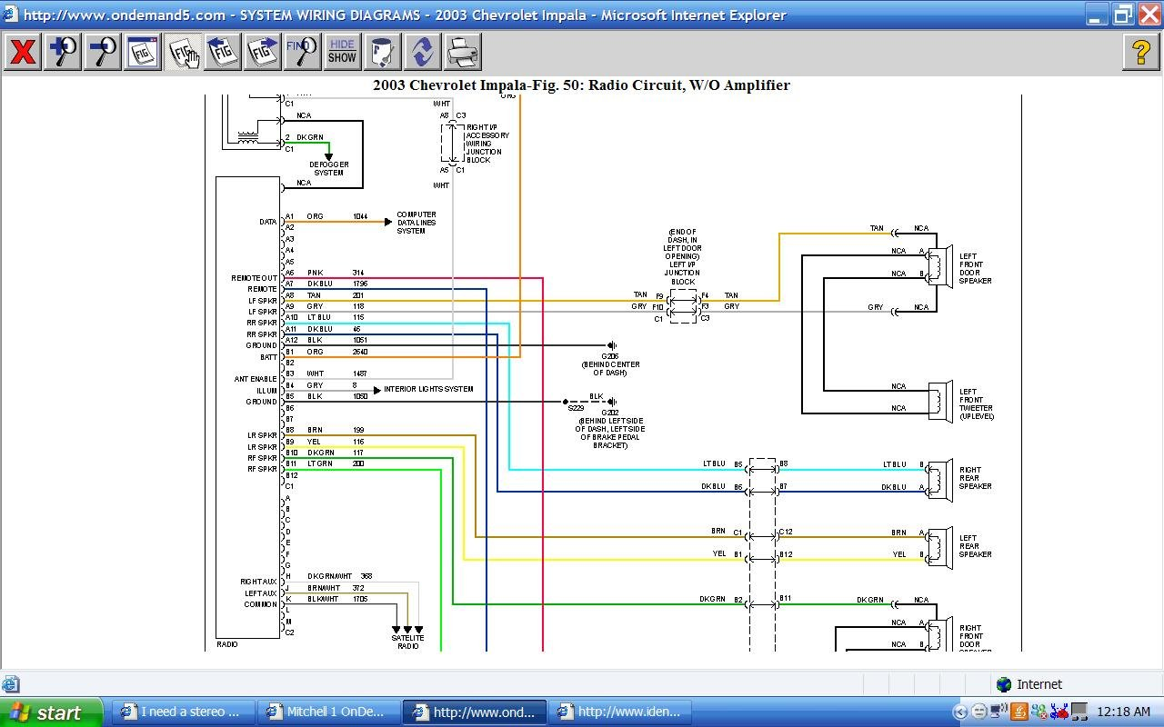 2007 Impala Wiring Diagram Data Schematic 2003 Chevy 3500 Headlight Detailed Schematics Rh Mrskindsclass Com Wire Radio