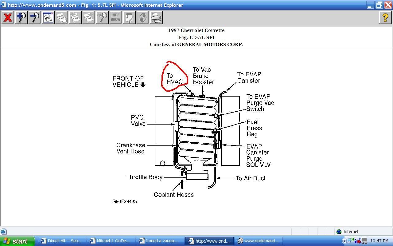 I Need A Vacuum Routing Diagram For A 97 Corvette I Have A Problem LS1  Engine Wiring Harness Diagram Ls1 Vacuum Lines Diagram
