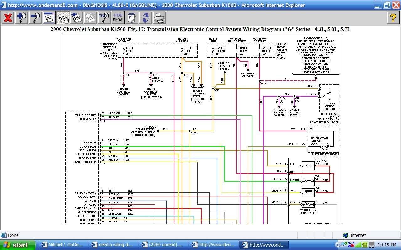 2000 isuzu a wiring diagram tranmission wiring harness