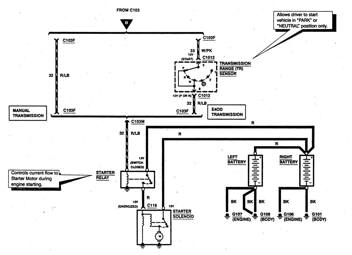 2008 F350 Starter Diagram Wiring Diagrams Ford Diesel 1997 F 350 Powerstrike 7 3 Need Fuse Location