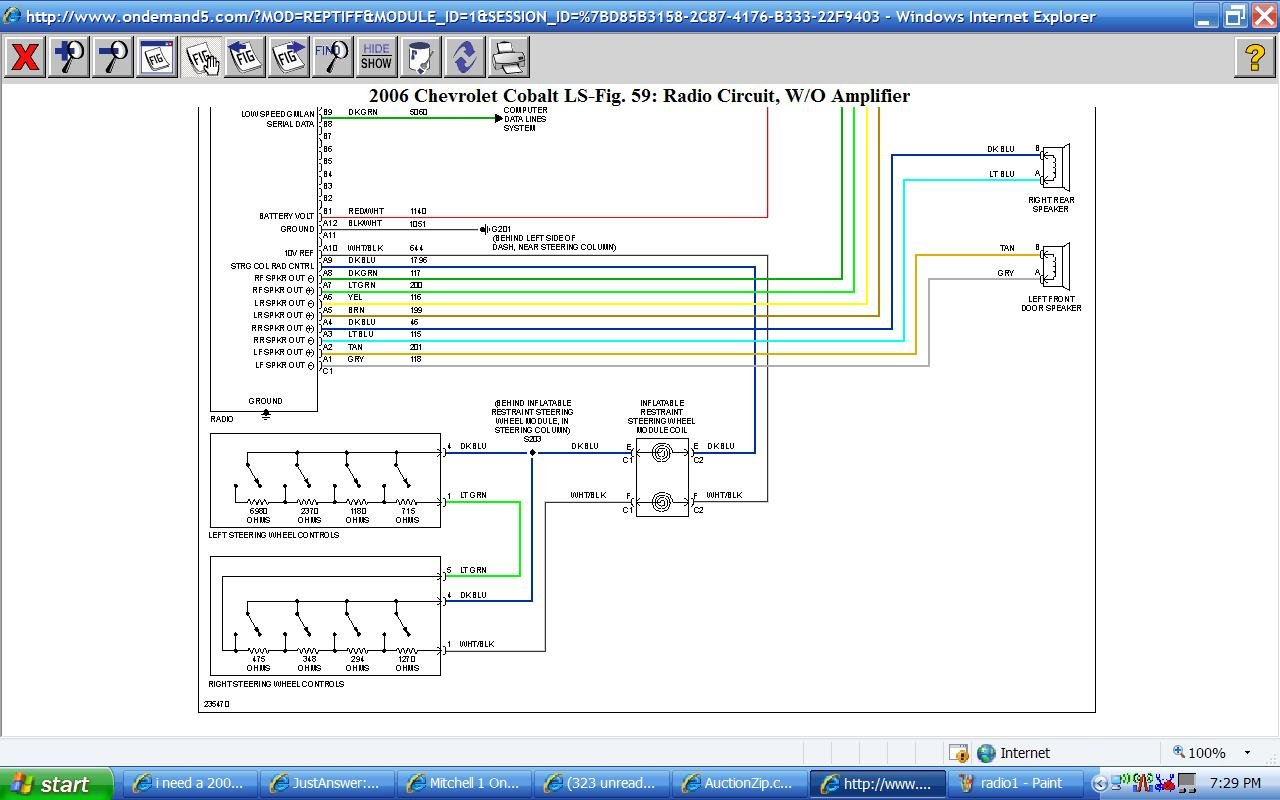 Diagram 2009 Chevy Cobalt Radio Wiring Diagram Full Version Hd Quality Wiring Diagram Diagramhyatta Beppecacopardo It