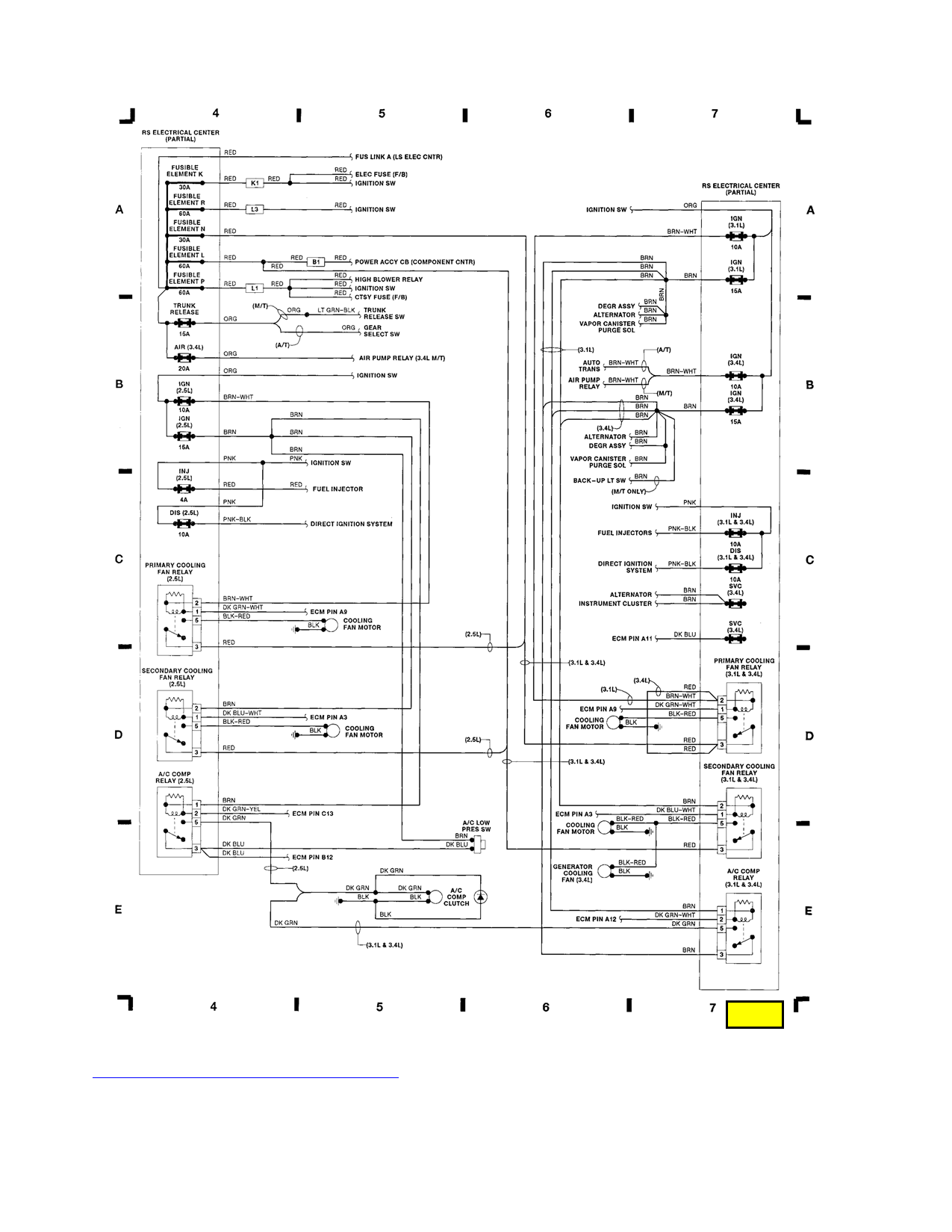 Looking For The Wiring Diagram A 1991 Lumina Steering Column 91 Pics Below Of All Diagrams I Have This Vehicle Rest Are Coming