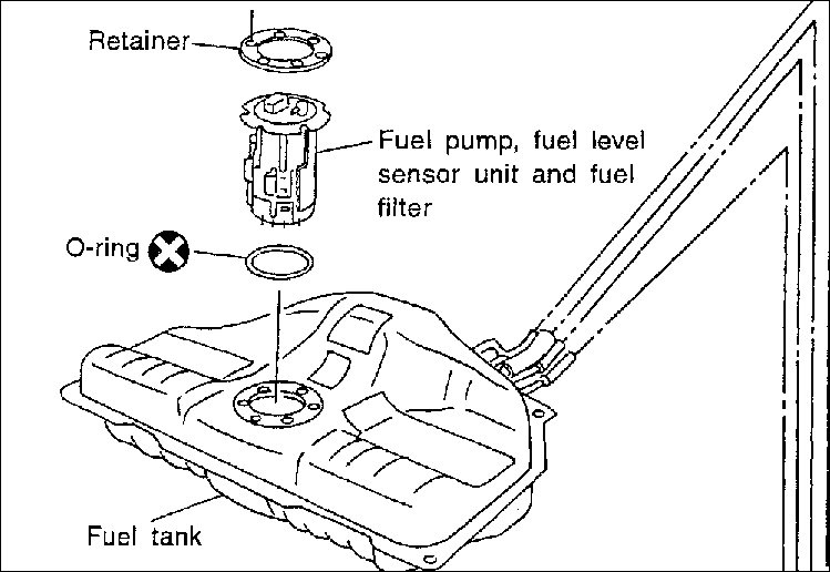 Where Is The Fuel Filter On A 2003 Maxima Locatedrhjustanswer: 1997 Nissan Altima Fuel Filter Location At Gmaili.net