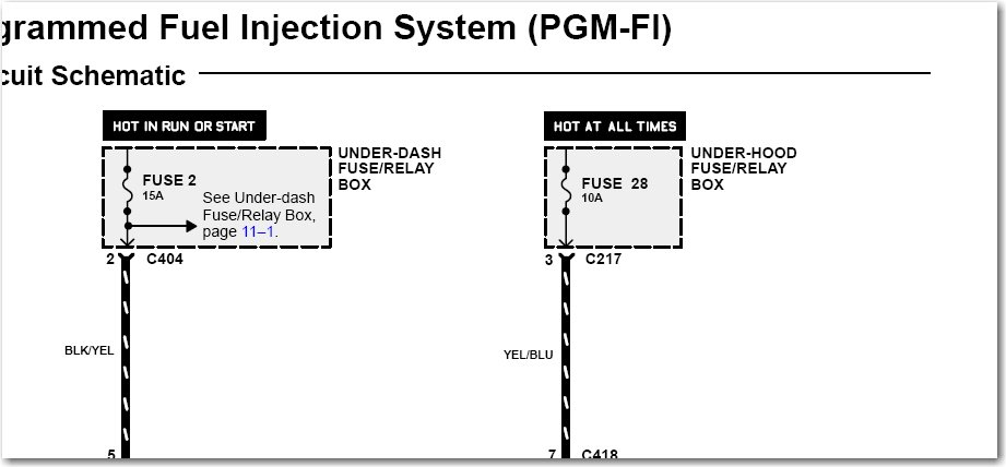 92 Honda Accord Fuel Pump Wiring Diagram Honda Auto