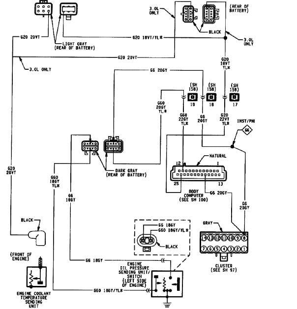 1994 dodge grand caravan wiring diagram    1994       dodge       caravan    3 3l temp gauge shows car overheating     1994       dodge       caravan    3 3l temp gauge shows car overheating