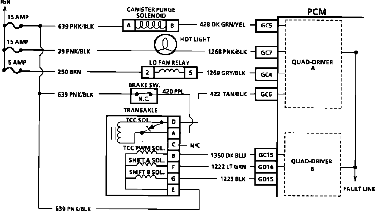 1991 Buick Park Avenue Wiring Diagram Free For You 91 Control Module
