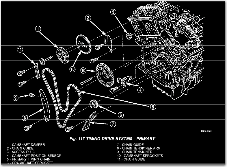 Here Is A Diagram So You Remember Where The Timing Cover Bolts Should