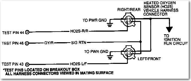 ford my 1994 taurus sho crank position sensor diagnostics Taurus Camshaft Position Sensor Wiring and inside the oxygen sensor Replace Camshaft Position Sensor