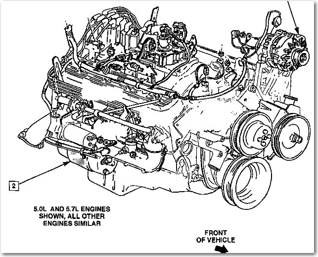 2007 Chevrolet Silverado Starter Location  Wiring Diagram