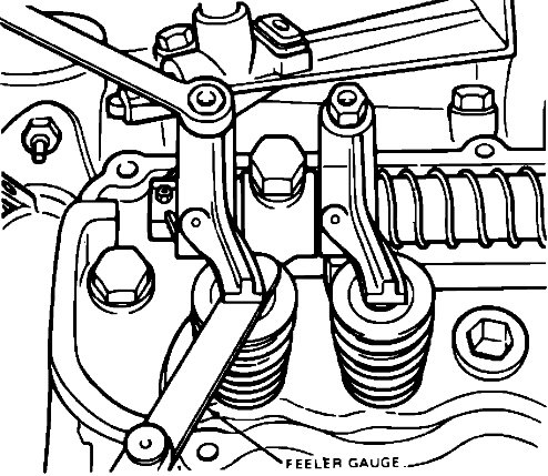 What Is The Procedure To Adjust Valves On A 2 8l Ford