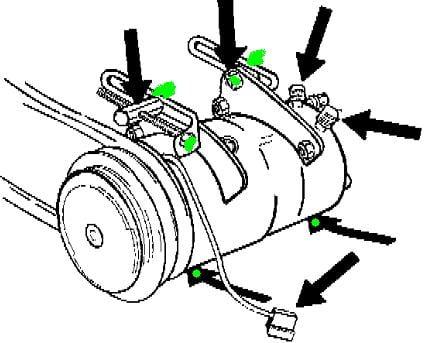 Volvo 940 Engine Belts Diagram