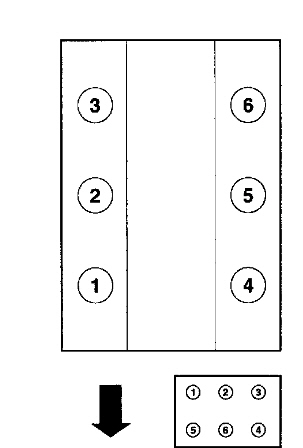Pic of the firing order for 2004 explores 4.0JustAnswer