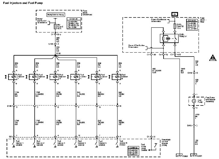 where can i find wiring diagram for g6 pontiac 2006 fuel system